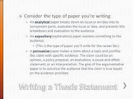 freshmen career fair acirc consider the type of paper you re writing consider the type of paper you re writing analytical euml131an analytical paper