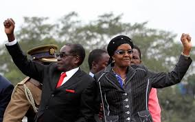 Image result for robert mugabe and grace mugabe