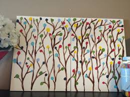 Easy Canvas Painting Diy Artwork Using Canvas Boards From Dollarama And Acrylic Paint