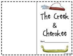 Creek And Cherokee Venn Diagram 34 Best 2nd Grade Social Studies Creek And Cherokee Indians