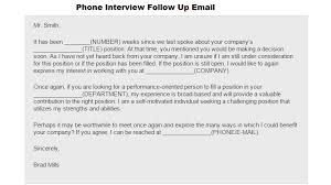 Sample Follow Up Letter To Check Status After Interview
