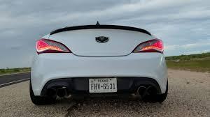 2015 hyundai genesis coupe custom. Brilliant Genesis 2015 Hyundai Genesis Coupe Custom Exhaust On Custom YouTube
