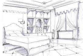 Fresh Interior Design Bedroom Drawing 36 In Home Design with Interior Design  Bedroom Drawing