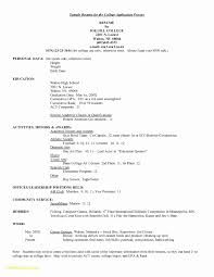 College Resume Sample 60 College Application Resume Sample Free Sample Resume 15