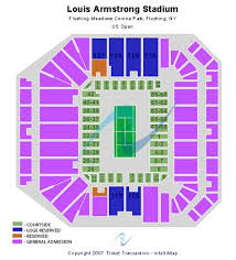 Flushing Meadows Corona Park Seating Chart Louis Armstrong Stadium Tickets And Louis Armstrong Stadium