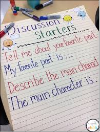 Beginning Middle End Anchor Chart 42 True To Life Retelling Chart