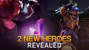 two new heroes revealed with twitch chat reaction the