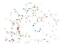 Overlays Png Transparent Background Confetti Overlay