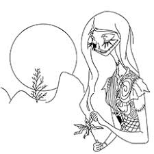 Small Picture Top 25 Nightmare Before Christmas Coloring Pages for Your Little
