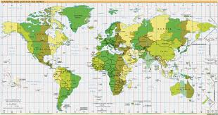 time zones of the the world  google maps world gazetteer  google