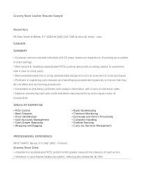 Cashier Resume Template Objective For Cashier Resume Yuriewalter Me