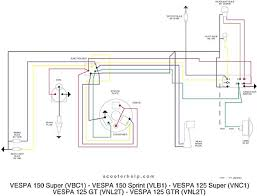 scooter help 150 super (vbc1t) vespa p125x wiring diagram at Vespa Wiring Diagram