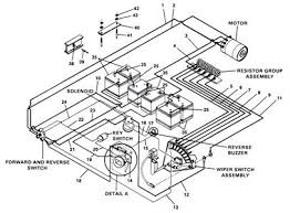 ezgo electric golf cart wiring diagram wiring diagram wiring diagram for 1981 and older ezgo models resistor sd