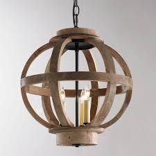 images wood globe chandelier