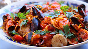 Cook Seafood Pasta With Me. - YouTube