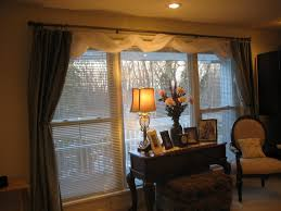 Window Valance Living Room Awesome White Scarf Over Valance Feat Curtains For Wide Windows As