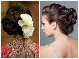 Hair Style For Medium Length wedding hairstyles for thin shoulder length hair with roses 1108 by wearticles.com