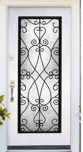 Priscilla Glass Door Insert Impact - Sarasota Glass