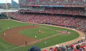Reds Seating Chart Mezzanine Great American Ball Park Section 414 Home Of Cincinnati Reds