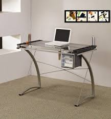 glass top home office desk. Glass Top Home Office Desk
