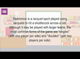 what is all about badminton  what is all about badminton
