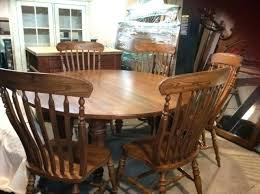 solid oak round dining table and chairs wood john lewis uk dark oak round dining table