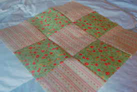How to Make a Nine Patch Quilt Block & Nine patch quilt block using two fabrics. Adamdwight.com