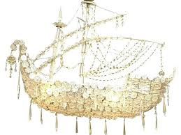 ship chandelier crystal pirate ship chandelier cool crystal chandelier ceiling fan combo home design ideas with