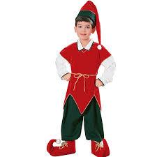 velvet elf child costume large