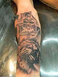 Sweet Gladiator Maximus Tattoo Tattoomagz