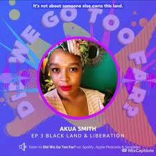 Akua Smith brings a wealth of... - Movement Generation