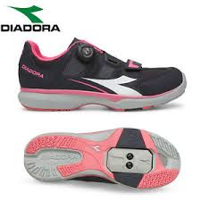 Details About Diadora Gym Womens Spd Cycling Shoes Black Pink