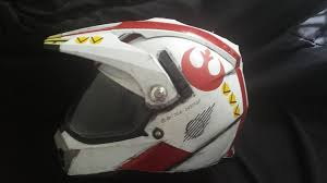 red one x wing motorcycle helmet inspired by star wars imgur