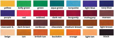fiebing s leather dye weltbeste glatt lederfarbe fiebing s leather dye color chart fiebing s leather dye color chart