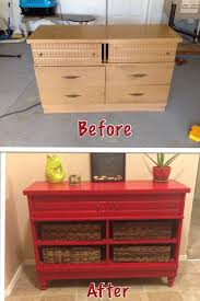 old furniture makeover. The 25 Best Red Dresser Ideas On Pinterest Painted Within Diy Modern Vintage Furniture Makeover Old