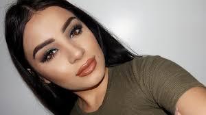 makeup for brown eyes green smokey eye