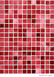 red and pink small tiles background royalty free stock photo