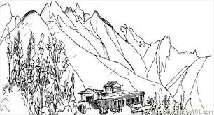 Small Picture Wing Mountainspm Coloring Page Free Mountain Coloring Pages