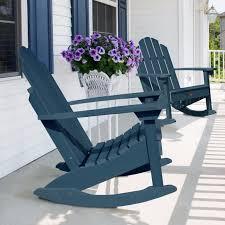 purple plastic adirondack chairs. Highwood Classic Westport Adirondack Rocking Chair (Cream (Ivory)), Size Single, Purple Plastic Chairs