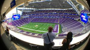 Us Bank Seating Chart Vikings U S Bank Stadium A 360 Degree View From The Field