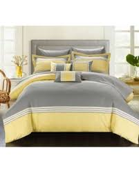 hotel collection comforter set. Chic Home 10-Piece Falconia Hotel Collection Striped Patchwork Bed In A Bag Comforter Set O