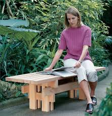 japanese garden furniture. Combine Five 2x4s, A Handful Of Screws And Long Afternoon To Build Handsome Sturdy Sitting Spot For Your Deck Or Garden. Japanese Garden Furniture E