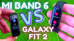 Budget Battle Xiaomi Mi Band 6 vs Samsung Galaxy Fit2 Review & Comparison