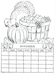 Calendar Coloring Pages Printable Coloring Calendar Calendar