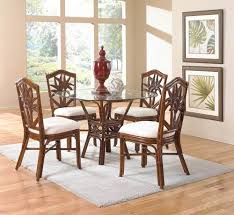 rattan and wicker dining room furniture sets tables chairs cancunpalm rounddiningset white table with pebbles elegant centerpieces black grey
