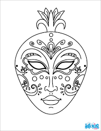 Free Mask Coloring Pages With Masks