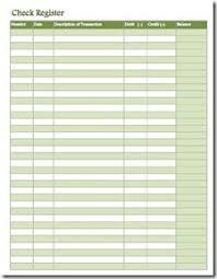 Free Printable Check Register Sheets - Kleo.beachfix.co