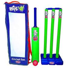 Wahu Backyard Cricket Set  Balls Frisbee U0026 Throwing Toys  Toys Backyard Cricket Set