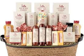 there s actually a good chance you ve received a hickory farms gift basket before if not you need better friends and or family in your life