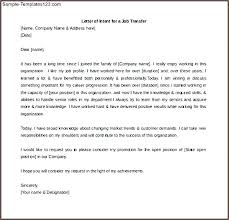 letter of intent for job bunch ideas of letter intent template job transfer in for a